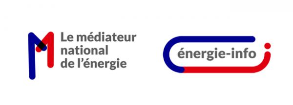 Le médiateur national de l'énergie et énergie-info changent de logo